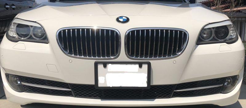 BMW5シリーズに ナンバースモーラー Ⅱ